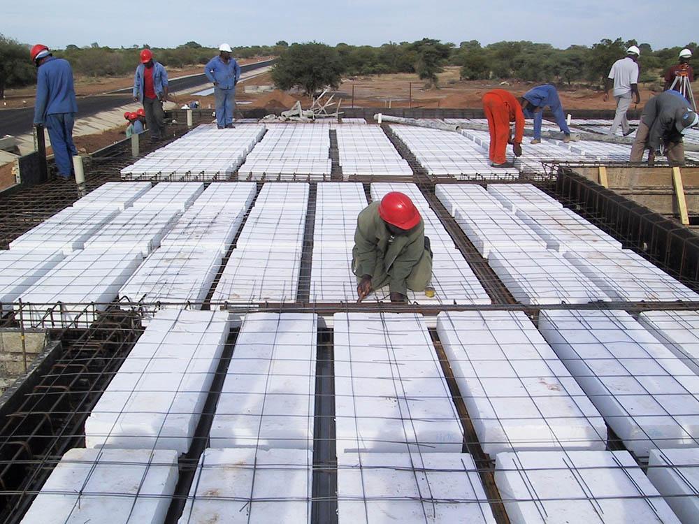 Mokete Africa Holdings CC - Insudek Suspended Slabs